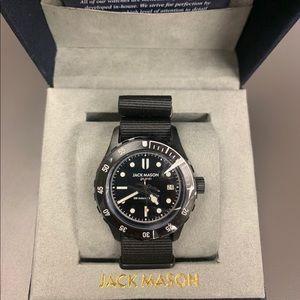 NWT Jack Mason 42mm Diver Watch
